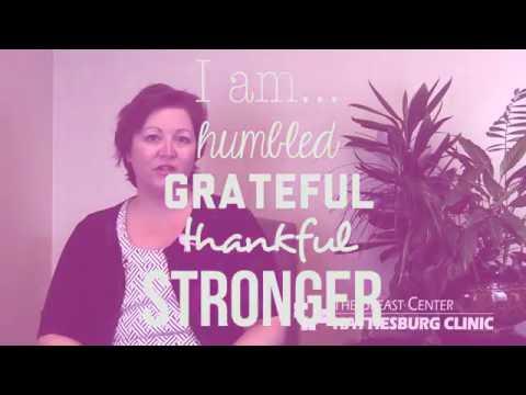 Hattiesburg Clinic - 2016 Breast Cancer Awareness - Marlena Shaw