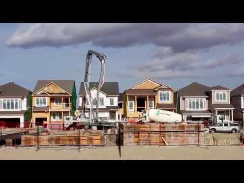 Wall Pour // October 2017 // Calgary Concrete Contractor