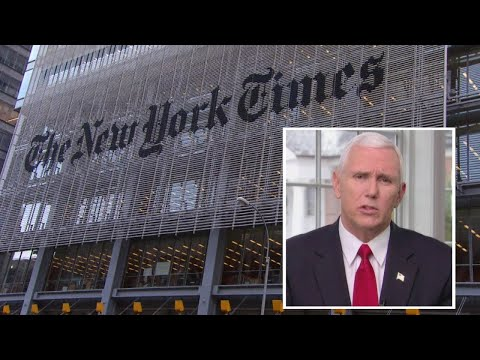 Did Vice President Mike Pence Pen NYTimes Op-Ed?