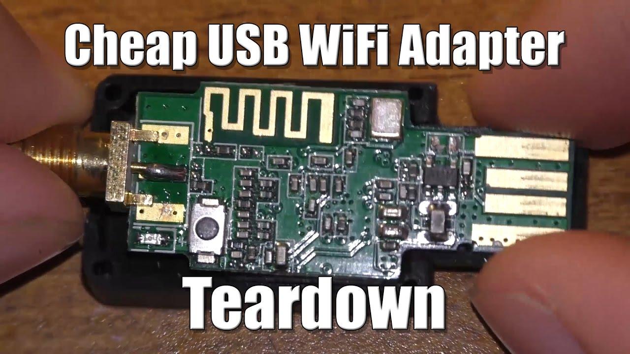 Cheap WiFi Adapter Teardown