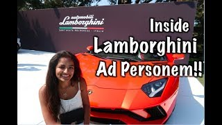 Lamborbhini Ad Personam Personalization program Videos