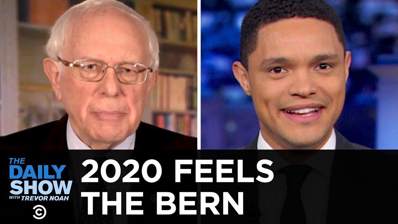 Trevor Noah Revels In The Return Of Bernie Sanders With Pure