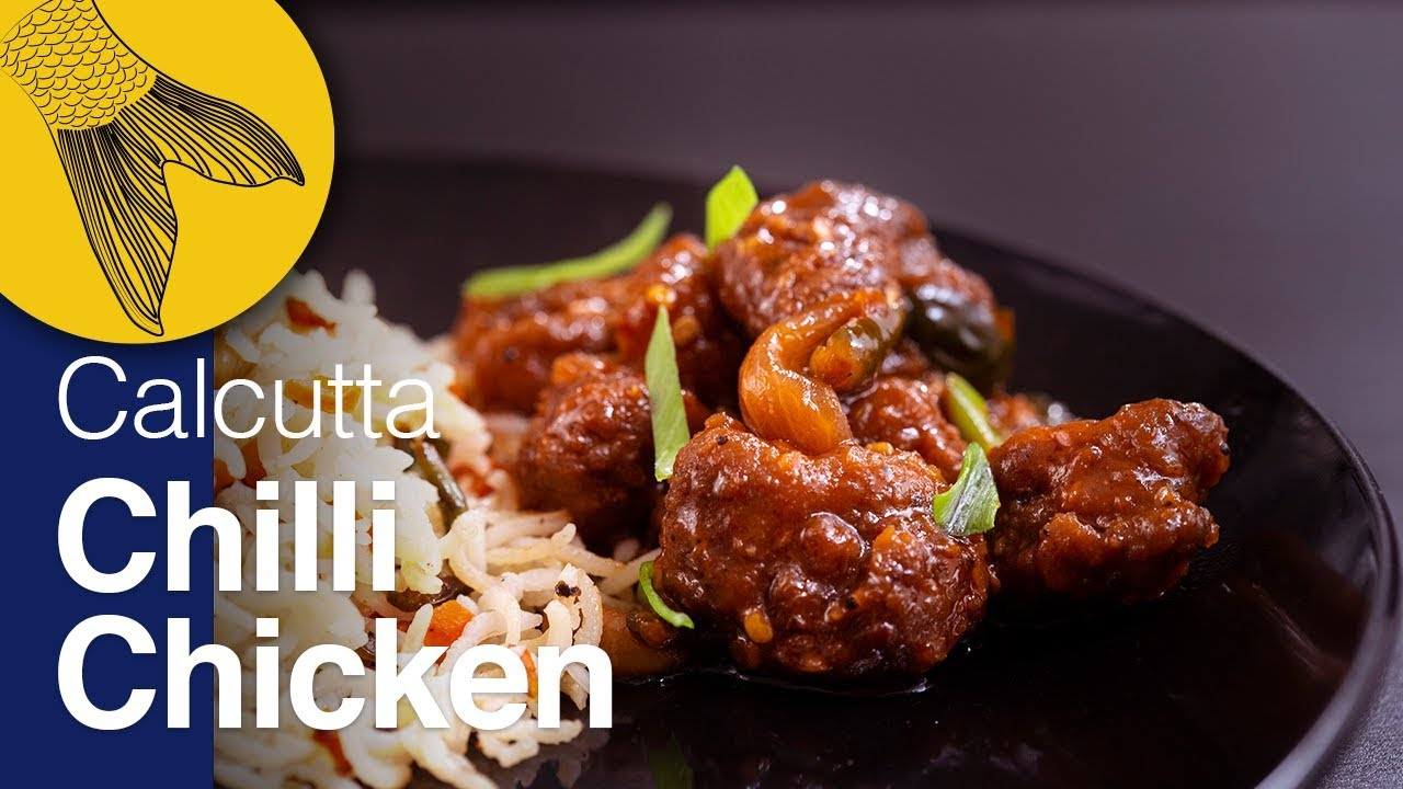 Chilli Chicken Recipe—Kolkata Restaurant Style Dry Chilli Chicken—Indo-Chinese Chicken Gravy Recipe
