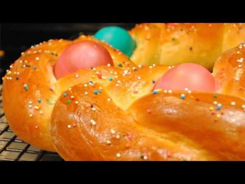 Recipe: Braided Easter Egg Bread