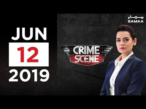 khudkushi ya qatal? | Crime Scene | SAMAA TV | 12 June 2019