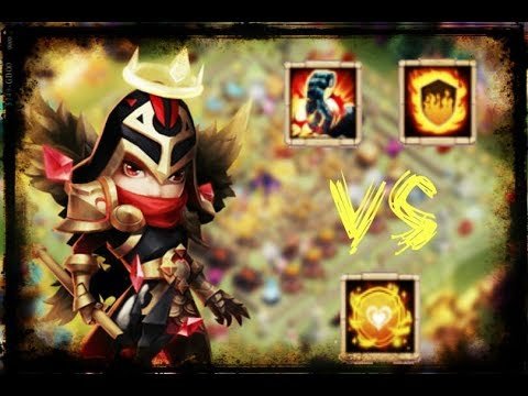 Michaels Best Defencive Talent || Tenacity Vs FlameGuard Vs StoneSkin  || Castle Clash