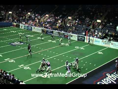 Terrell Owens Highlights Allen Wranglers IFL 3-31-2012