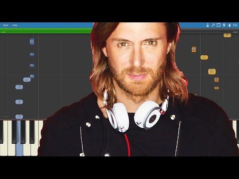 David Guetta, Chris Willis, Cedric Gervais - Would I Lie To You - Piano Tutorial