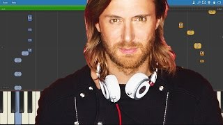 Скачать David Guetta Chris Willis Cedric Gervais Would I Lie To You Piano Tutorial