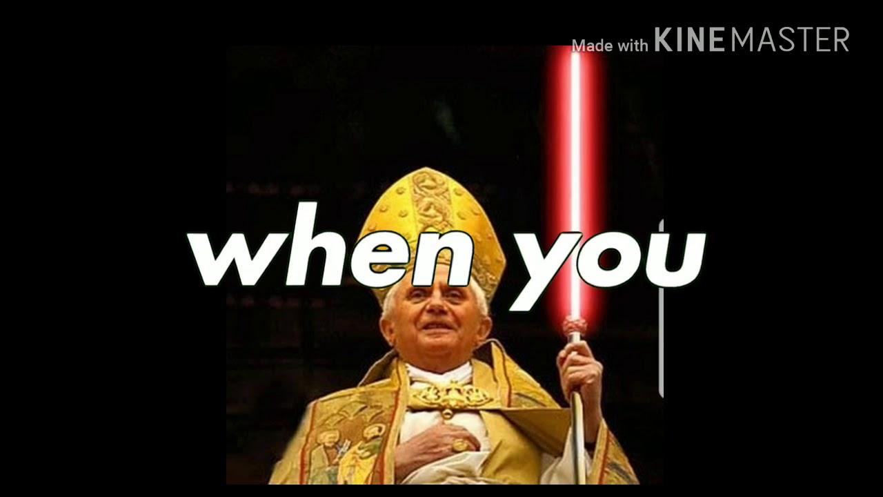 Papa Benedicto Xvi Lord Sidious Bazzi Mine Meme