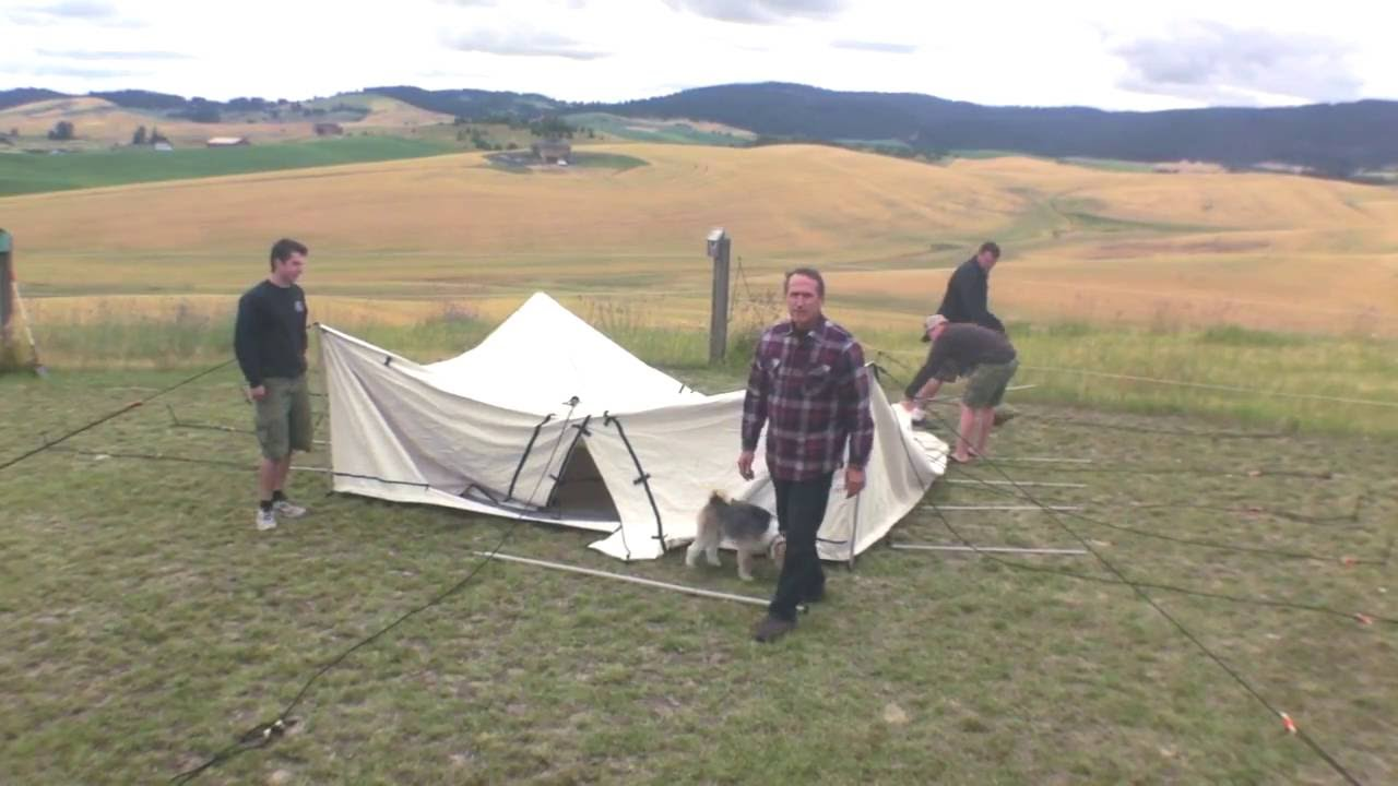 Spike Tent Set Up - YouTube