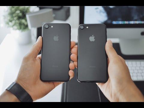 Wn Iphone 7 Unboxing Jet Black Vs Matte Black