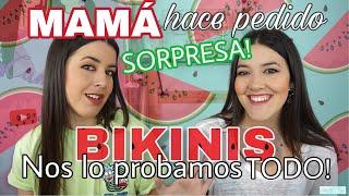TRY ON HAUL: BIKINIS ELEGIDOS POR NUESTRA MADRE! | elcanalbe thumbnail