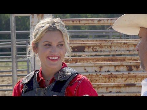Daring Ashley Roberts to Ride that Bull