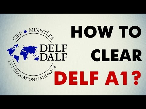 How to clear Delf A1 exam?