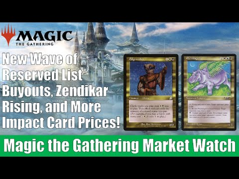 MTG Market Watch: Zendikar Rising, Reserved List Buyouts, and More Impact Card Prices