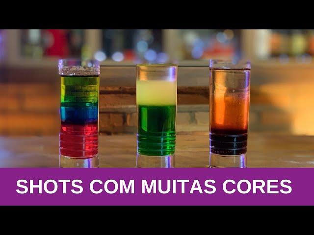 SHOTS COM MUITAS CORES - LIVE #4