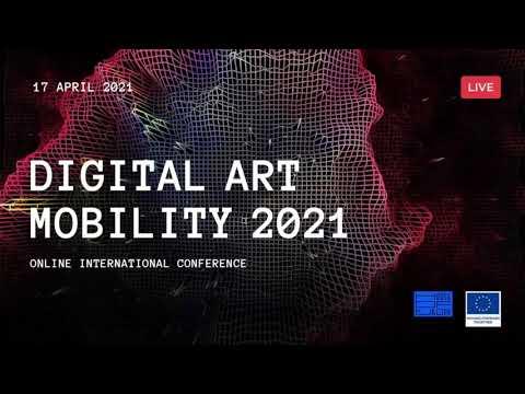 Digital Art Mobility Conference 2021/part 1/ukr subtitles