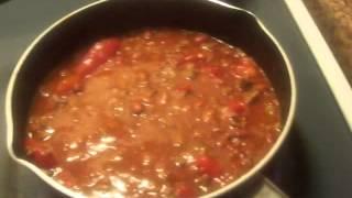 Recipe-  Easy Hearty Homemade Chili