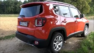 2015 Jeep Renegade 1.4L Multiair (140 HP) Test Drive