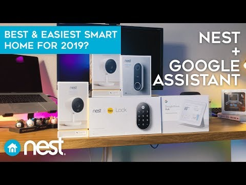 Nest & Google Nest Hub – Easiest Smart Home Setup For 2019