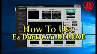 How To Use Ez_Dork_Gen_DELUXE