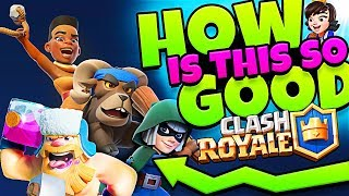 NEW LEGENDARY DECK!?!  - CLASH ROYALE - HOW IS THIS GOOD!?