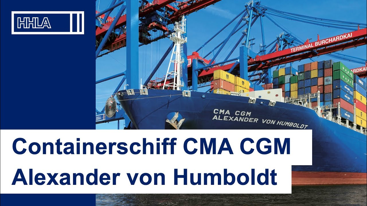 taufe der cma cgm alexander von humboldt in hamburg youtube. Black Bedroom Furniture Sets. Home Design Ideas