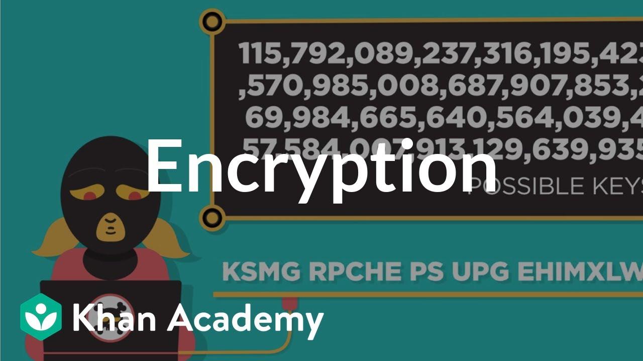 Encryption and public keys (video) | Khan Academy