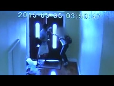Girl, 13, Fights Off Attacker in Her Own Home: Caught on Tape thumbnail