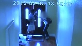 Girl, 13, Fights Off Attacker in Her Own Home: Caught on Tape