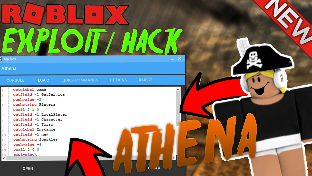Overpowered Roblox Exploit Hack Athena Patched 130 Cmds
