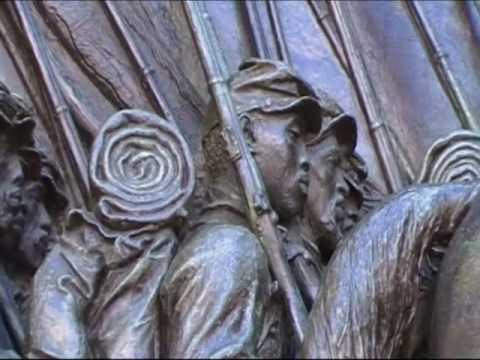 Robert Gould Shaw & Mass 54th Regiment Memorial Boston