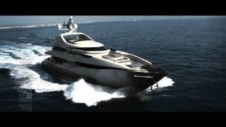 Superyacht PERI YACHTS 41T tri-decks for sale.