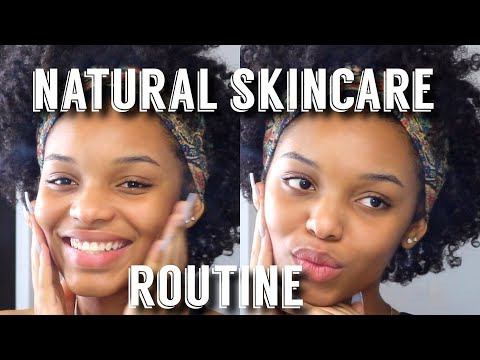 NATURAL SKINCARE ROUTINE | Flawhs
