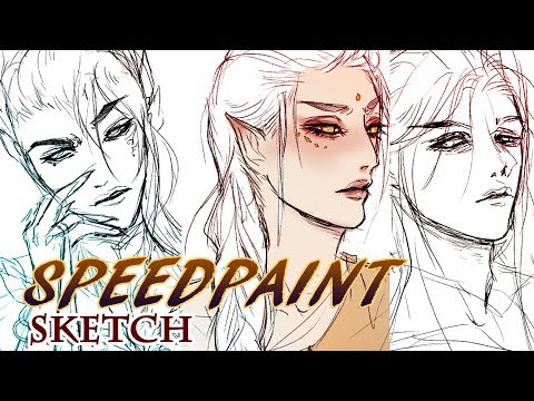 Thoughtful Sketches 【 SPEEDPAINT ✦ TIMELAPSE 】