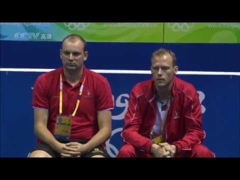 2008 Beijing Olympics - MS QF - Lin Dan vs Peter Gade
