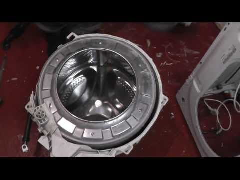 Indesit Washing Machine dismantling(Bearings issue problem)
