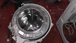 indesit washing machine dismantling bearings issue problem