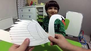 Kuğu Tacı Maketi Nasıl Yapılır. Meraklı Minik Ocak Sayısı - Eğlenceli Çocuk Videoları