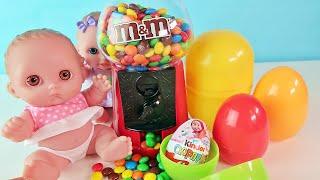 Куклы Пупсики Играют в Конфетный Автомат Открываем Сюрпризы Щенячий патруль Зырики ТВ Игрушки