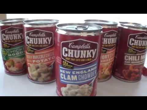 Campbell's Chunky Soup - New England Clam Chowder