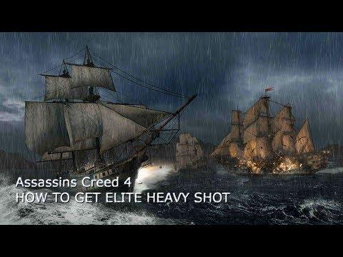 How to get Elite Heavy Shot - Assassins Creed 4: Blackflag