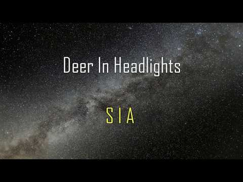 Deer In Headlights - SIA KARAOKE subtitulada ESPAÑOL