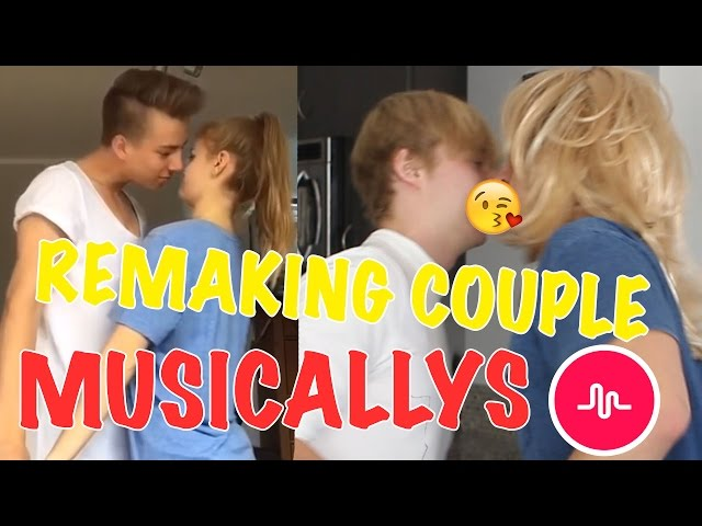 REMAKING THE CRINGIEST COUPLE MUSICALLYS EVER | Sam and Colby