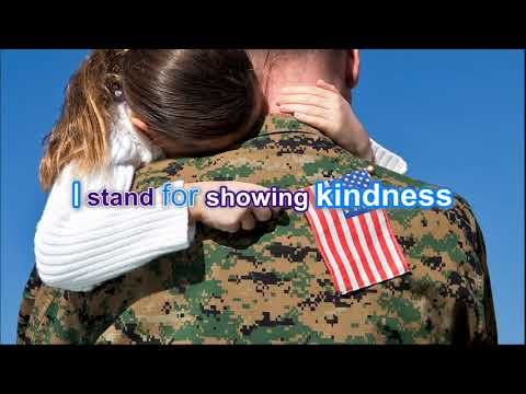 I Stand For the Flag Lyric Video