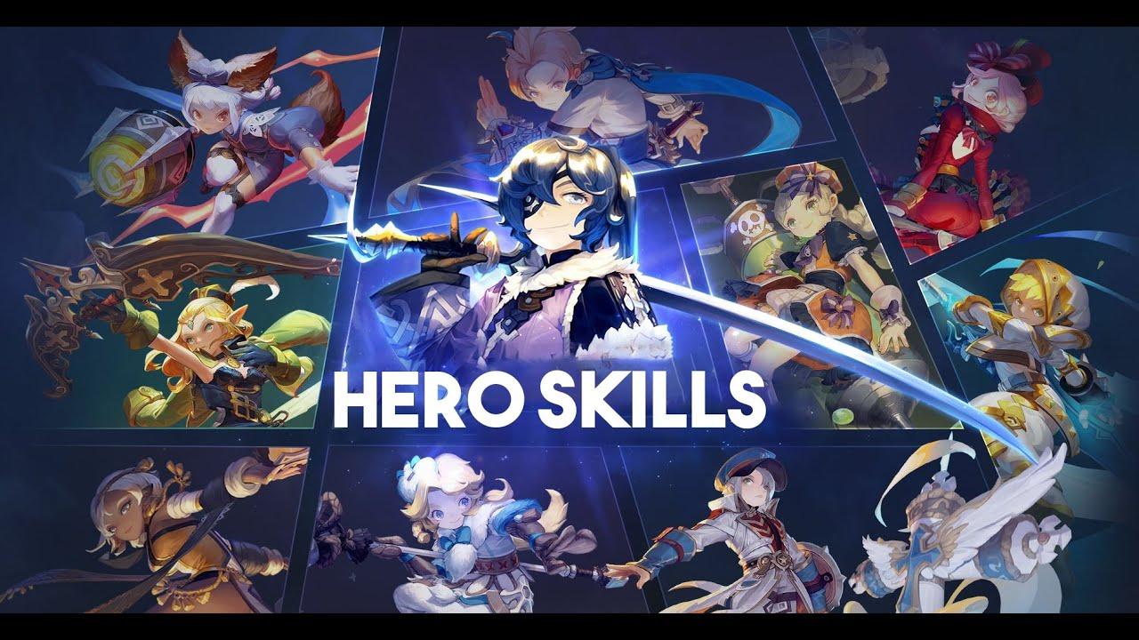 Dragon Nest – Hero Skills [All Class]