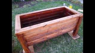 Raised Garden Box Part 2