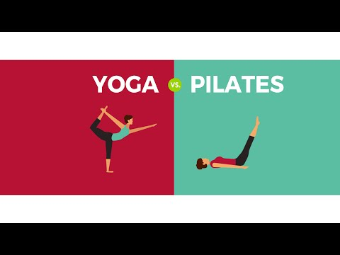 Yoga vs. Pilates : What\'s the Difference?