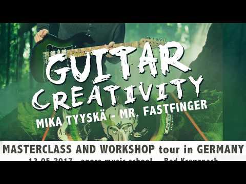 Mika Tyyskä / Mr. Fastfinger Workshoptour 2017 Teaser
